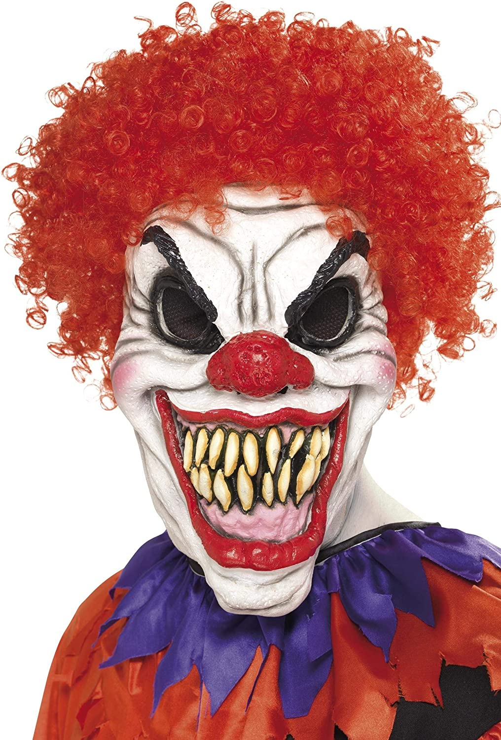 Smiffys Men's Scary Clown Mask