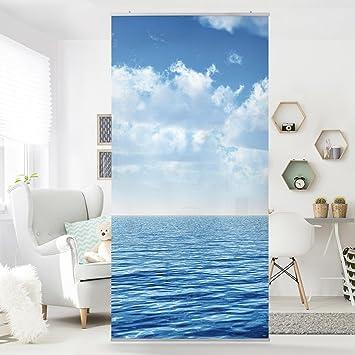 Flächenvorhang Set Shining Ocean Ozean Meer See Blau Wolken ...