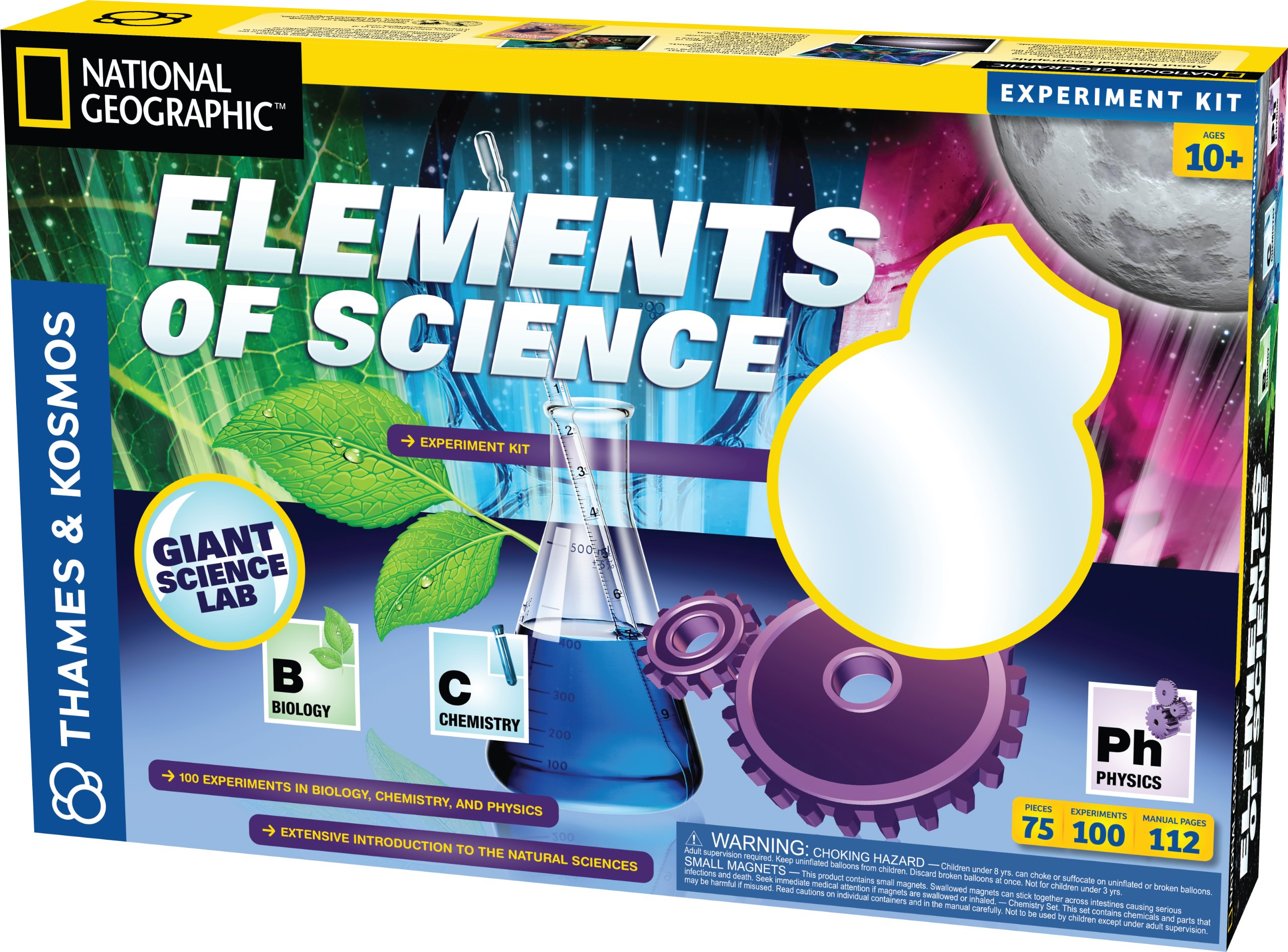 Thames and Kosmos Fun and Fundamentals Elements of Science by Thames & Kosmos