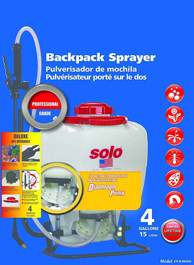 Amazon.com: Solo 475-b-deluxe Professional Backpack Sprayer ...