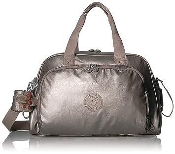 042b8fafa Bolsa de Maternidade Kipling Camama Cloud Grey Metallic: Amazon.com ...