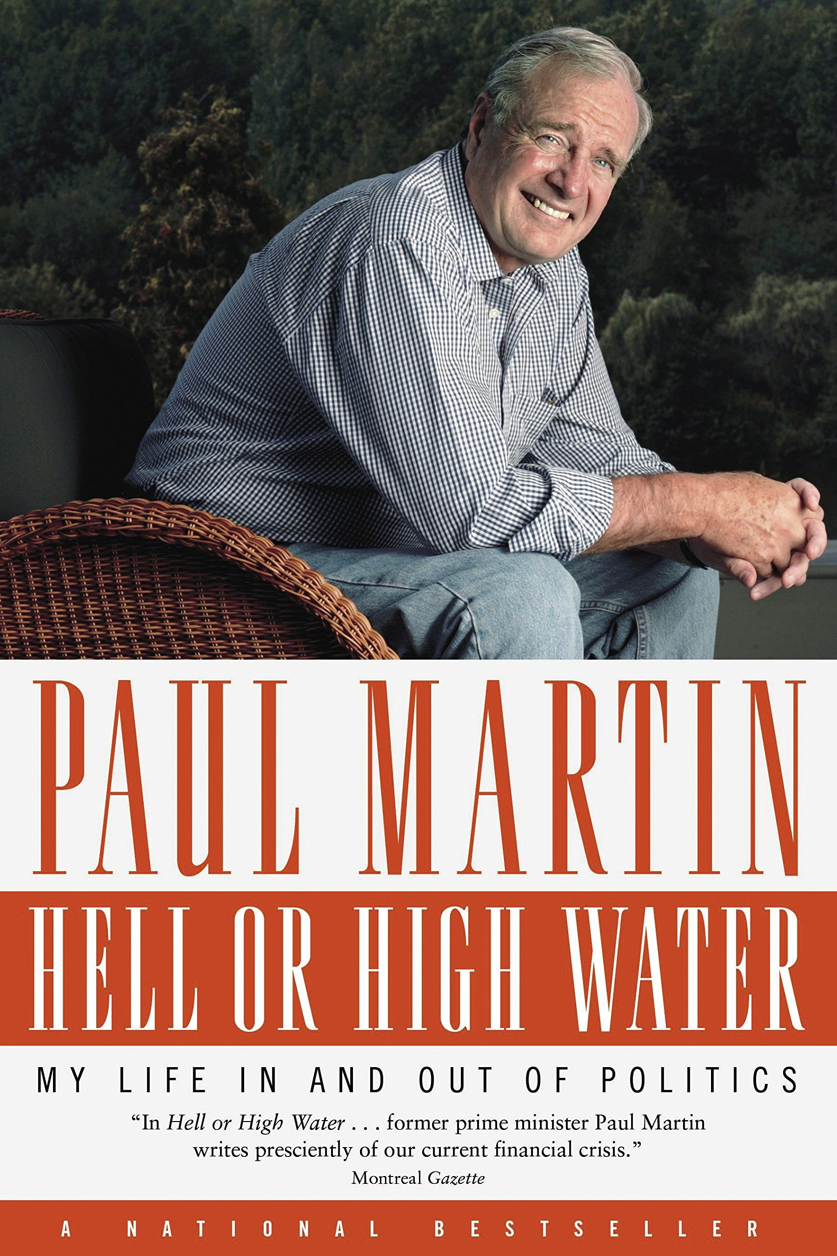 Read Online Hell or High Water: My Life in and out of Politics pdf