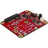 STARTECH.COM PIB2MS1 PIB2MS1 Adattatore Convertitore USB a mSATA per Raspberry Pi e Schede di Sviluppo, ()