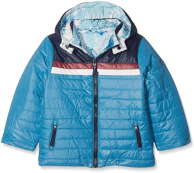 boboli 524146, Abrigo para Niños, Azul (Marino) 104 (Tamaño del Fabricante