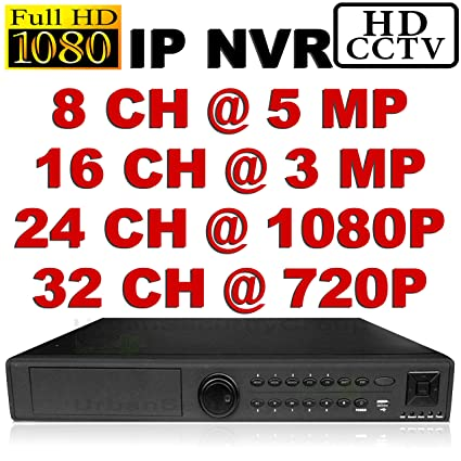Amazon com : USG Ultra High Definition Security IP NVR: 8Ch @ 5MP