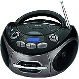 AEG SR 4366 Stereo-Kassetten-Radio mit CD/MP3/USB/AUX-IN, Toploading CD-Player