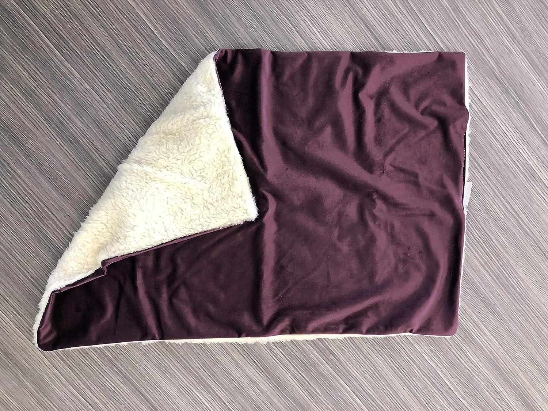Duck Egg Velvet, Mini Scent Blanket Lords /& Labradors Velvet /& Sherpa Pet Blanket Fleece Blanket for Kittens /& Puppies and 3 sizes