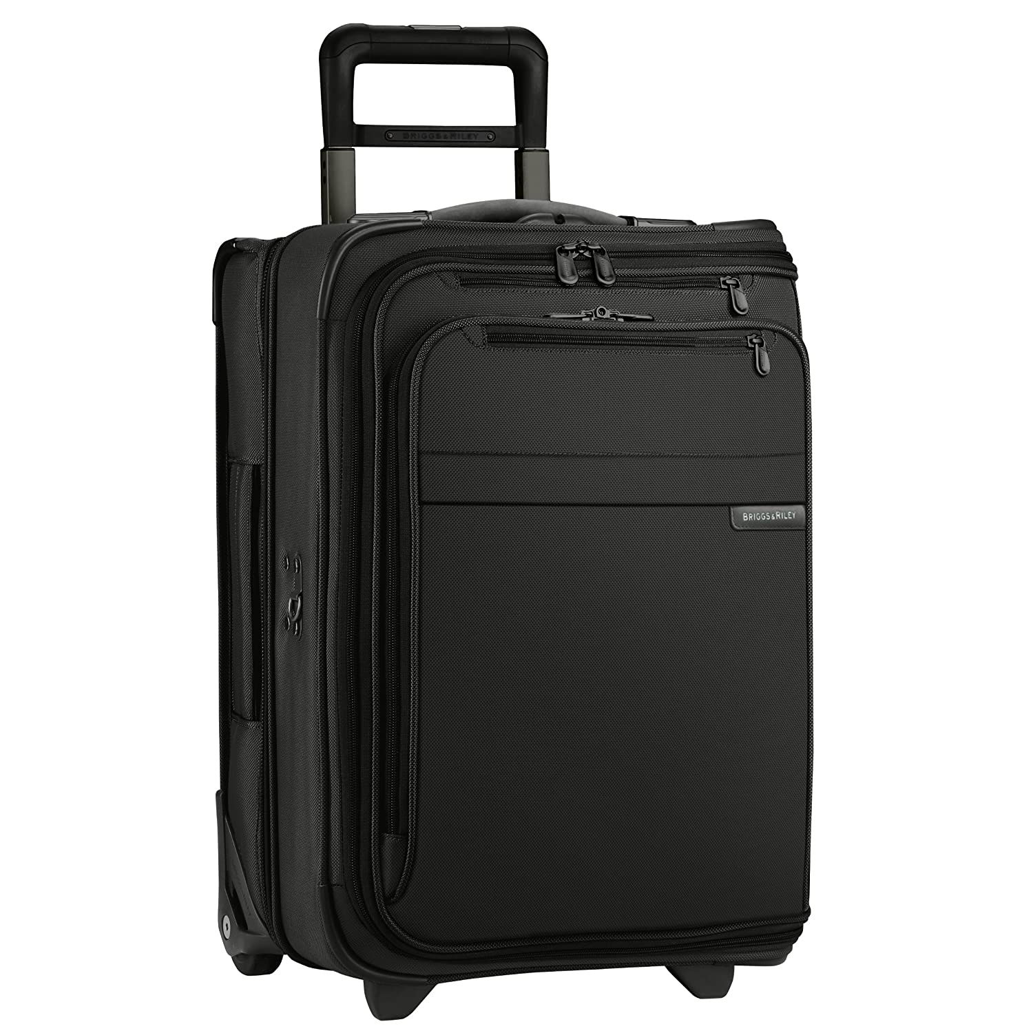 Briggs & Riley Baseline Domestic Carry-On Upright Garment Bag, Black, Small