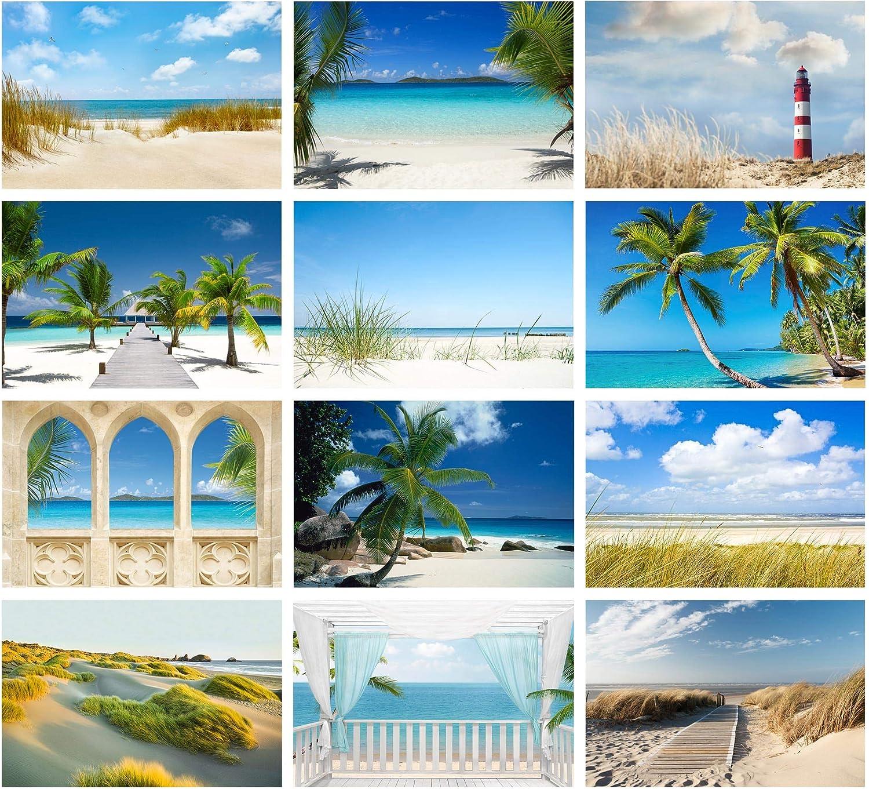 Fotomural Motivo Playa Perfect Maledives Autoadhesivo, 255x384cm