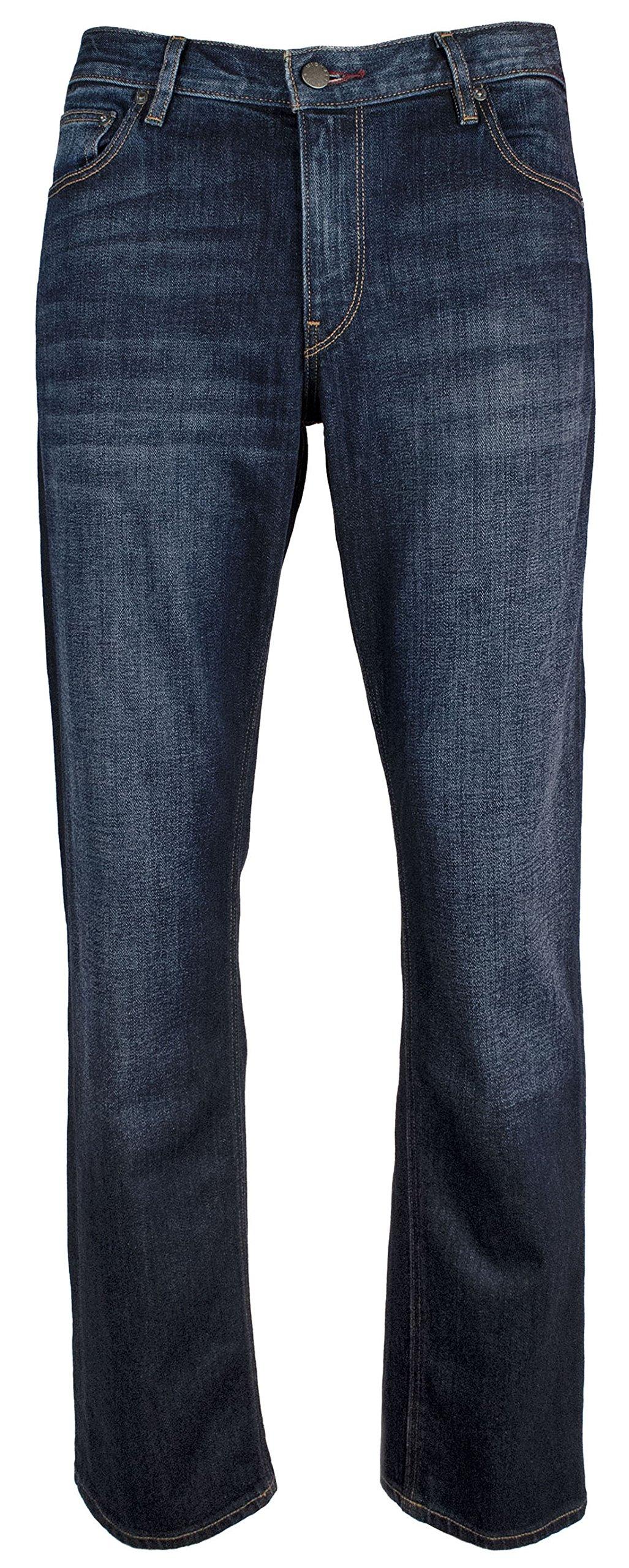 Michael Kors Men's Tailored Fit Indigo Jeans Pants-HI-32Wx32L
