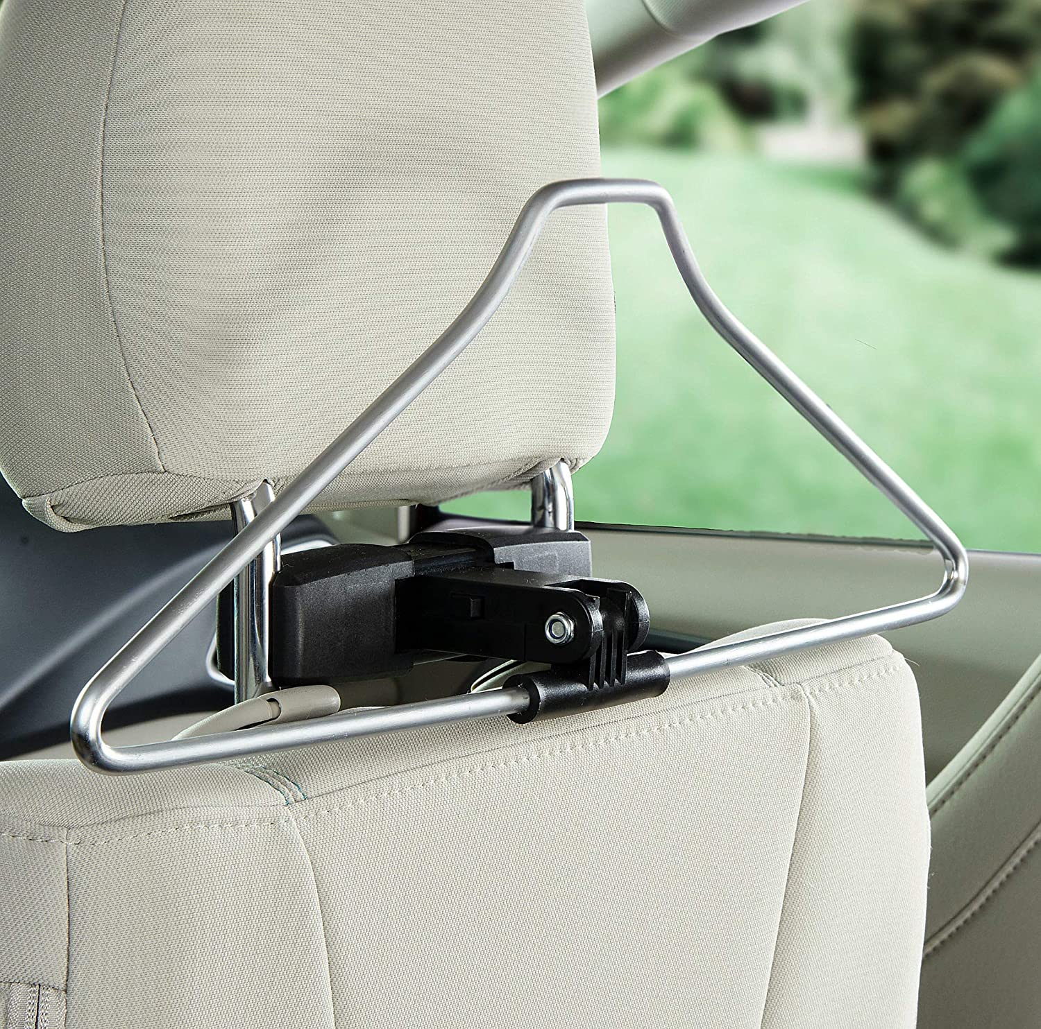 High Road Car Coat Hanger with Easy Mount Base