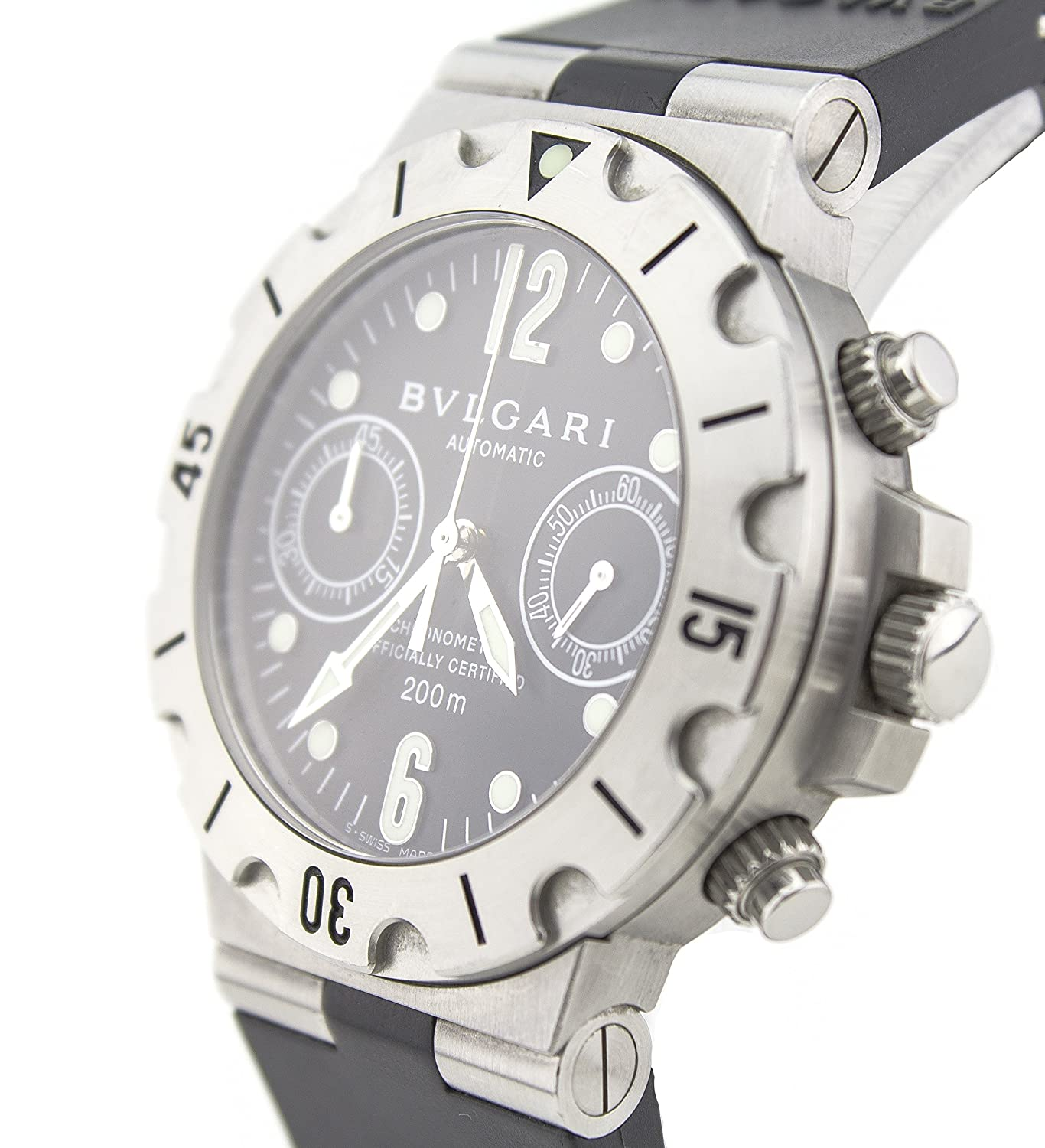 3e95293a7de Bvlgari diagono stainless steel automatic mens watch certified pre owned  bvlgari watches jpg 1366x1500 Iron man