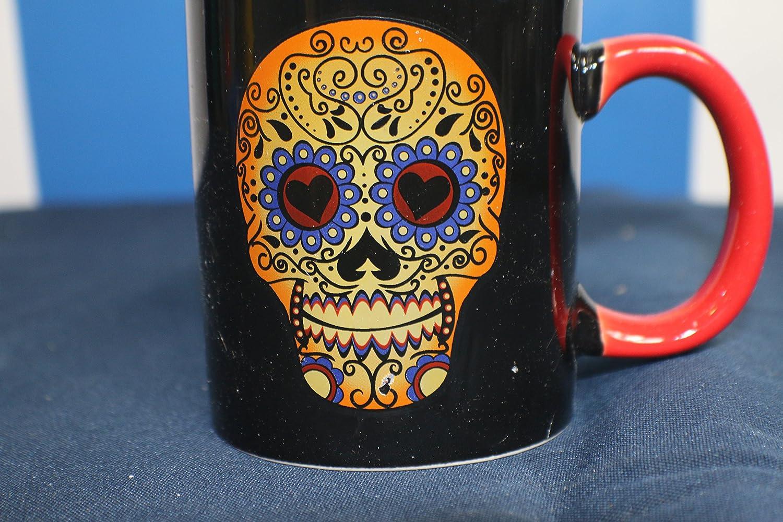 Mug Dia de los muertos Dead Barista Skeleton Mermaid Coffee Mug