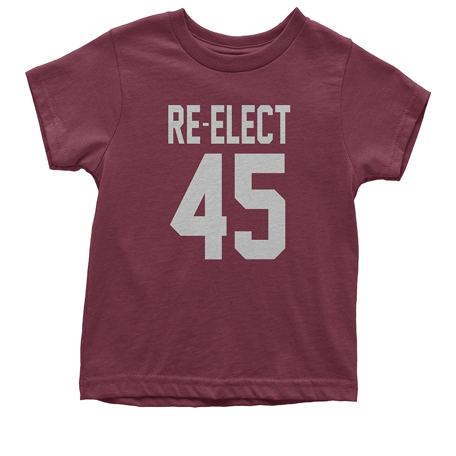 Expression Tees Re-Elect 45 Trump for President Youth T-Shirt