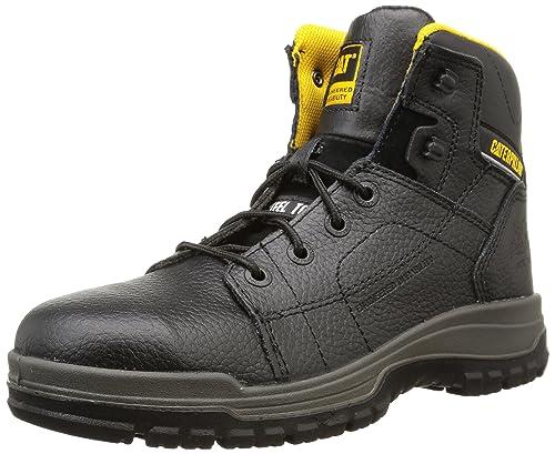 Cat Dimen Hi Sb, Men's Safety Boots, Black (Black), 6 UK