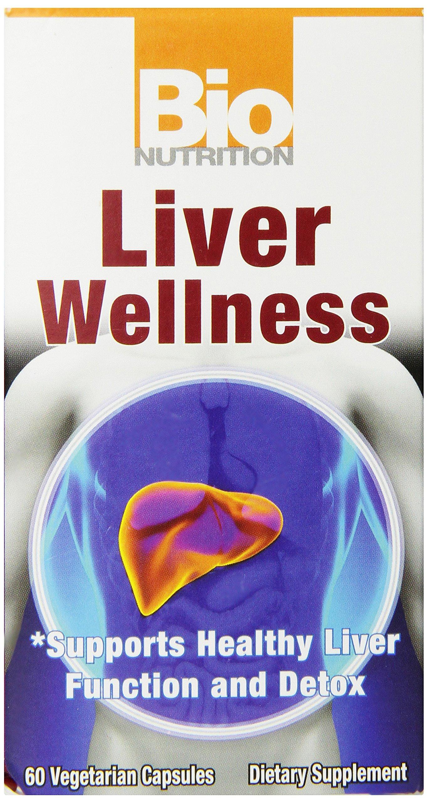 Bio Nutrition Liver Wellness Vegi-Caps, 60 Count