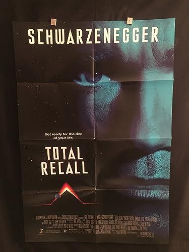 Total Recall 1990 Original Vintage One Sheet Movie Poster
