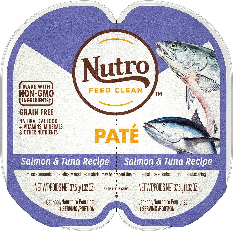 NUTRO Perfect Portions Grain Free Natural Wet Cat Food, Paté