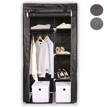 Kleiderschrank Faltschrank VALENTIN XL faltbarer Textilschrank Stoffschrank