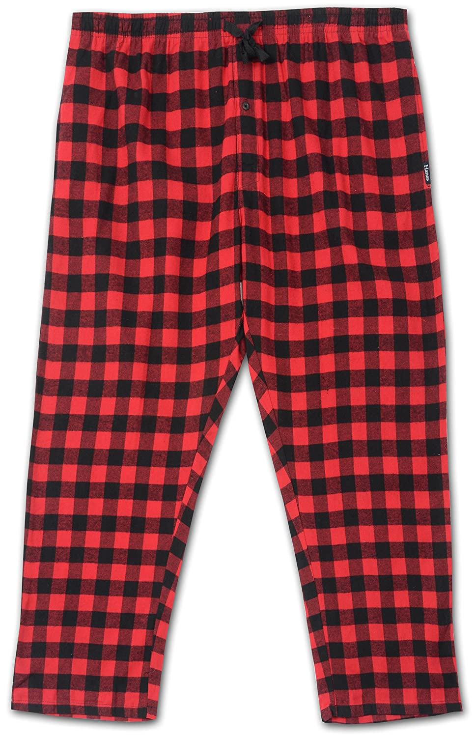 Hanes Big and Tall Flannel Lounge Pant