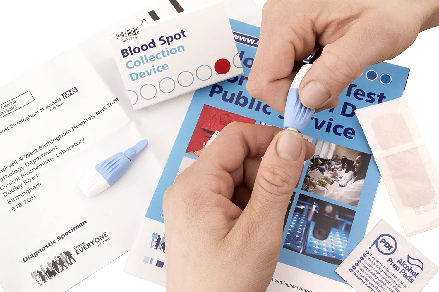 SunVit-D3 Vitamin D Blood Test Kit - (Test Your Vitamin D Levels from The  Comfort of Your Home)