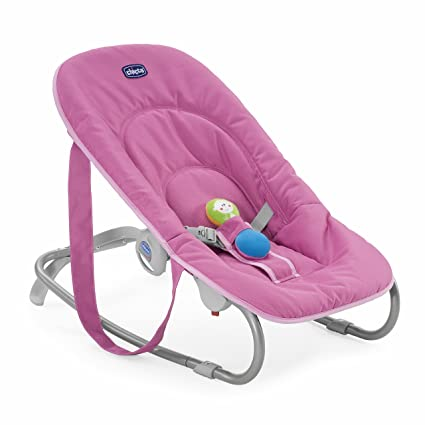 Chicco 05079026170000 Easy Relax - Mecedora para bebé (hasta 9 kg), color rosa
