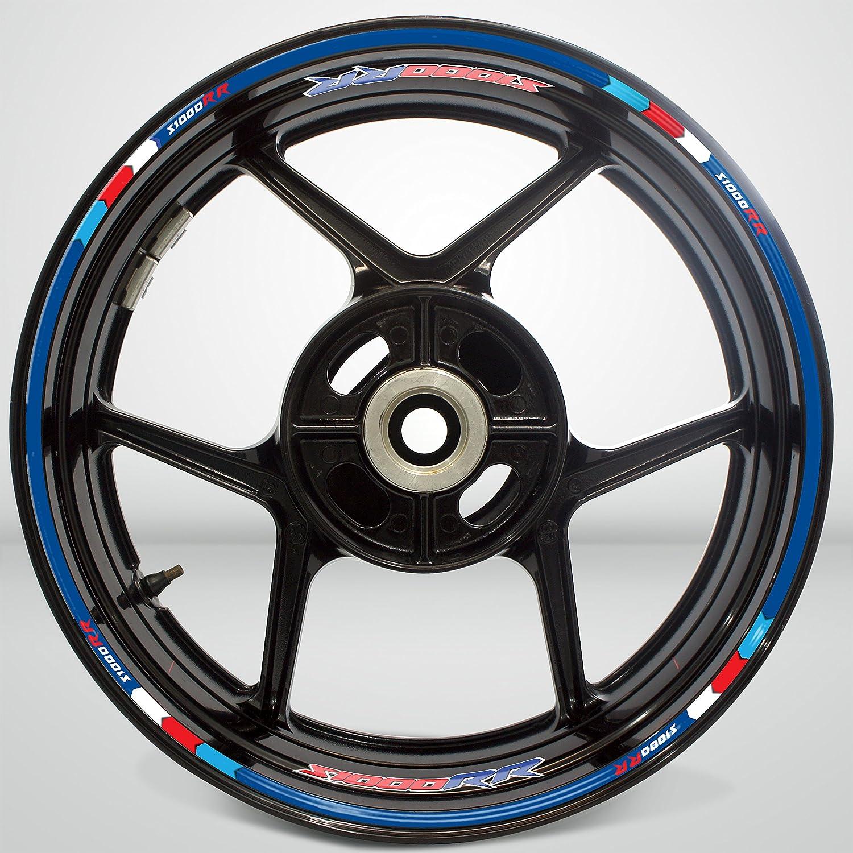 Amazon com bmw s1000rr wheel rim sticker decal stripe motorcycle bike mm kit v3 automotive