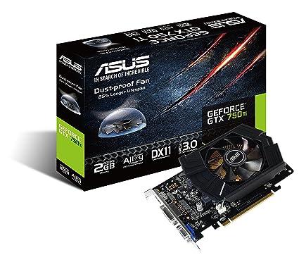 ASUS GTX750TI-PH-2GD5 - Tarjeta gráfica de 2 GB GDDR5 (NVIDIA GeForce GTX 750 Ti, PCI Express 3.0, 1350 MHz, HDMI)