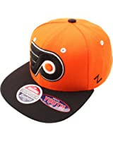 NHL Philadelphia Flyers Refresh Snapback Cap, Orange
