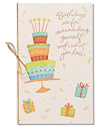 Amazon American Greetings Happiness Always Birthday Card With