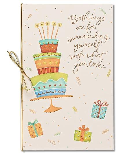 Amazon american greetings happiness always birthday card with american greetings happiness always birthday card with glitter m4hsunfo