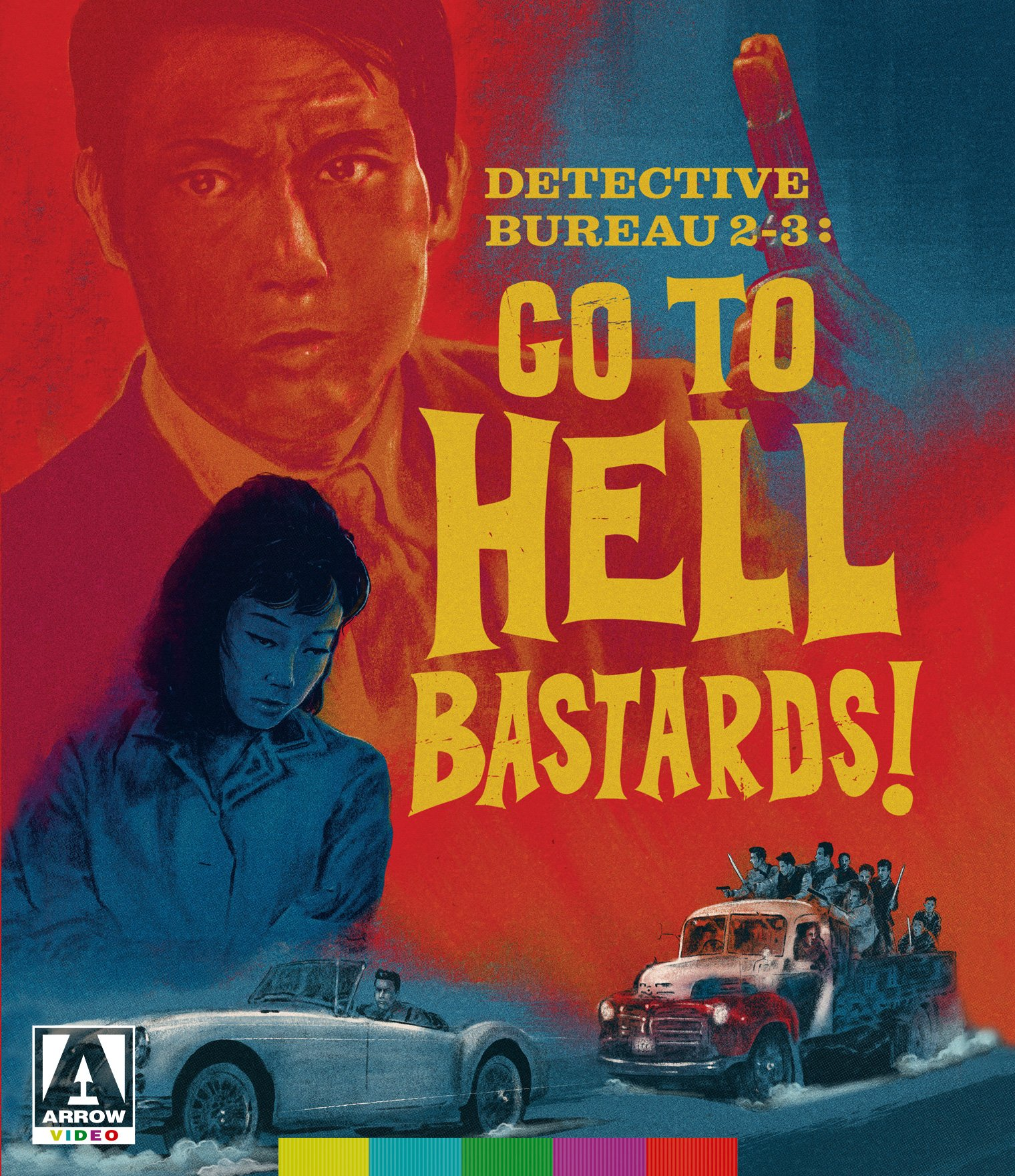 Blu-ray : Detective Bureau 2-3: Go To Hell Bastards! (Blu-ray)