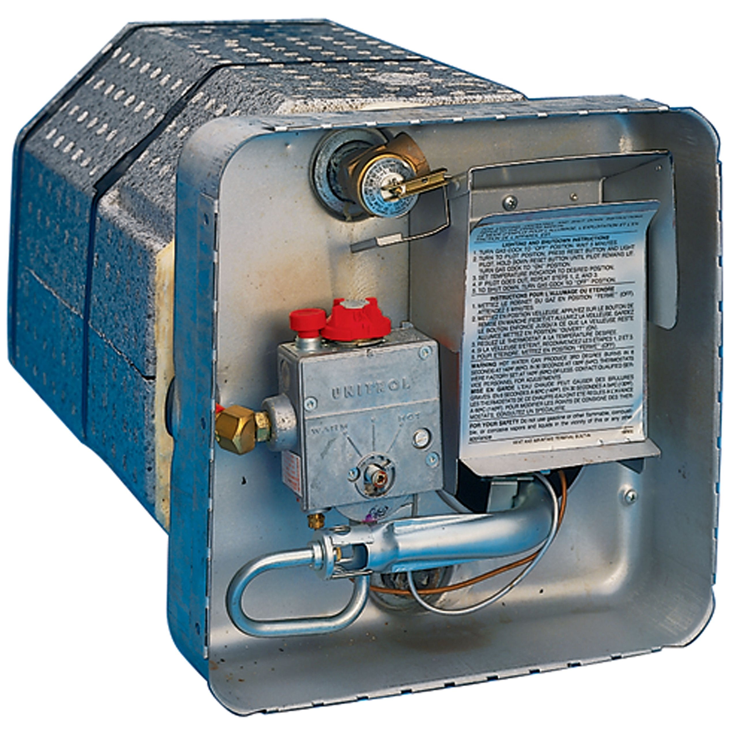 Suburban 5067A Gas Pilot Ignition Water Heater - SW4P, 4 Gallon