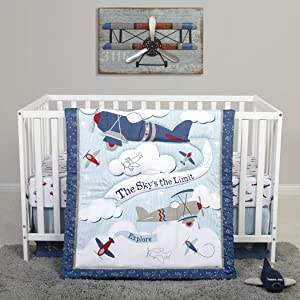Sammy & Lou 4 Piece Crib Bedding Set, Adventure Awaits