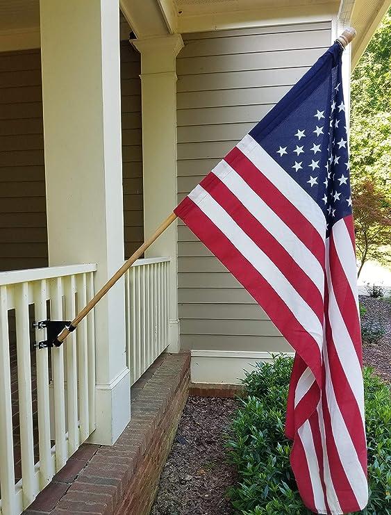 Flagpole Mount 45 Wedge