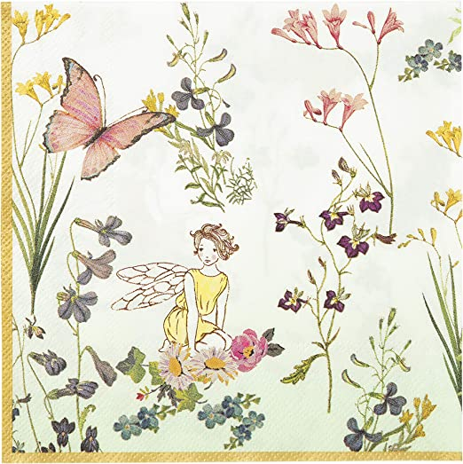 Damask  Fairytale Terrarium Cloth Napkins by Spoonflower - Fairytale Terrariums by nouveau/_bohemian Whimsical Dinner Napkins Set of 2