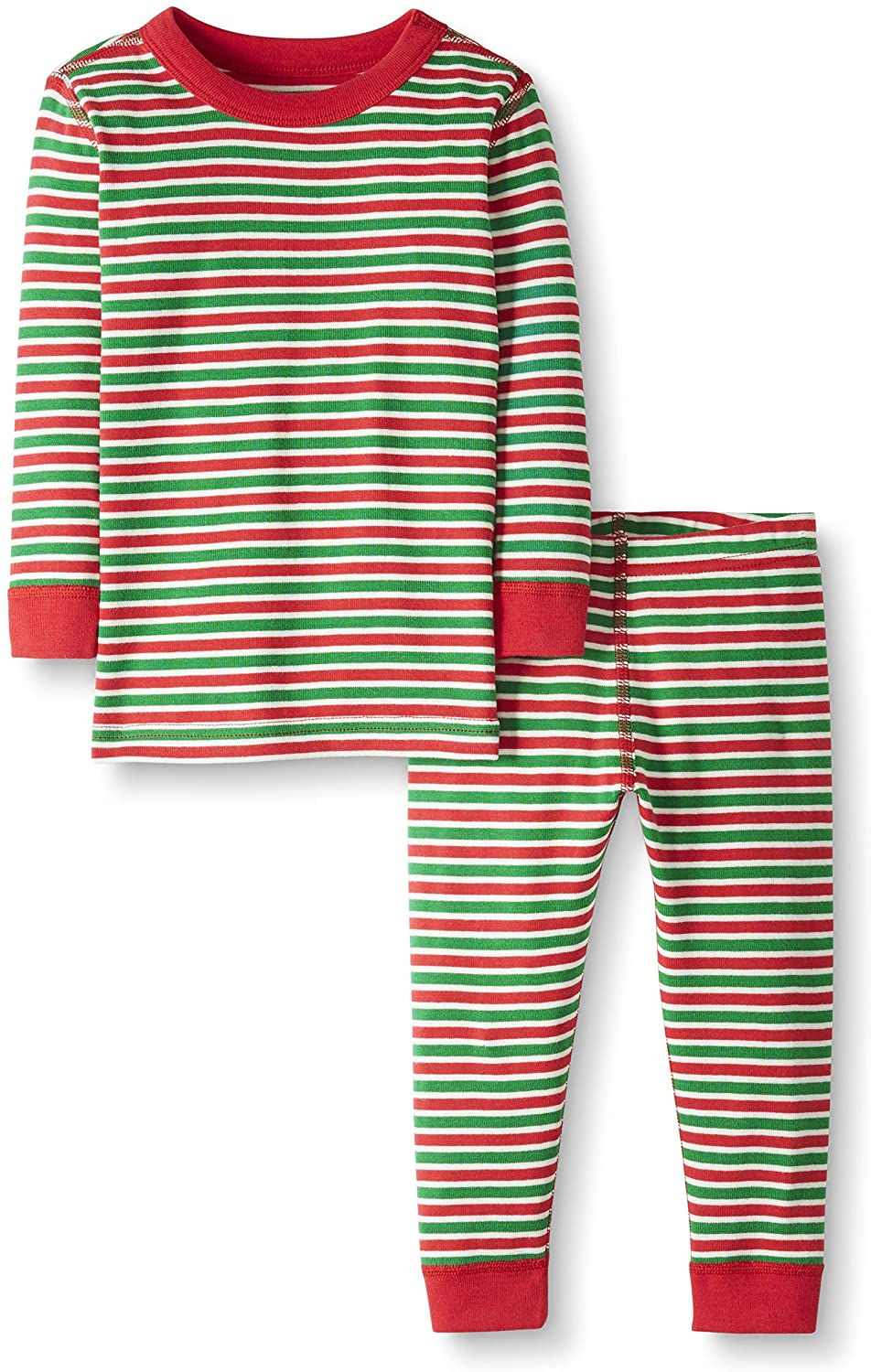 Moon and Back by Hanna Andersson Unisex Baby 2 Piece Long Sleeve Pajama Set
