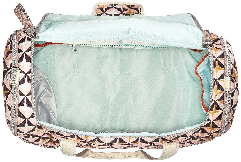 Oilily Charm Geometrical Weekender Mhz, Sacs bandoulière femme, Rose, 27x31x53 cm (B x H T)