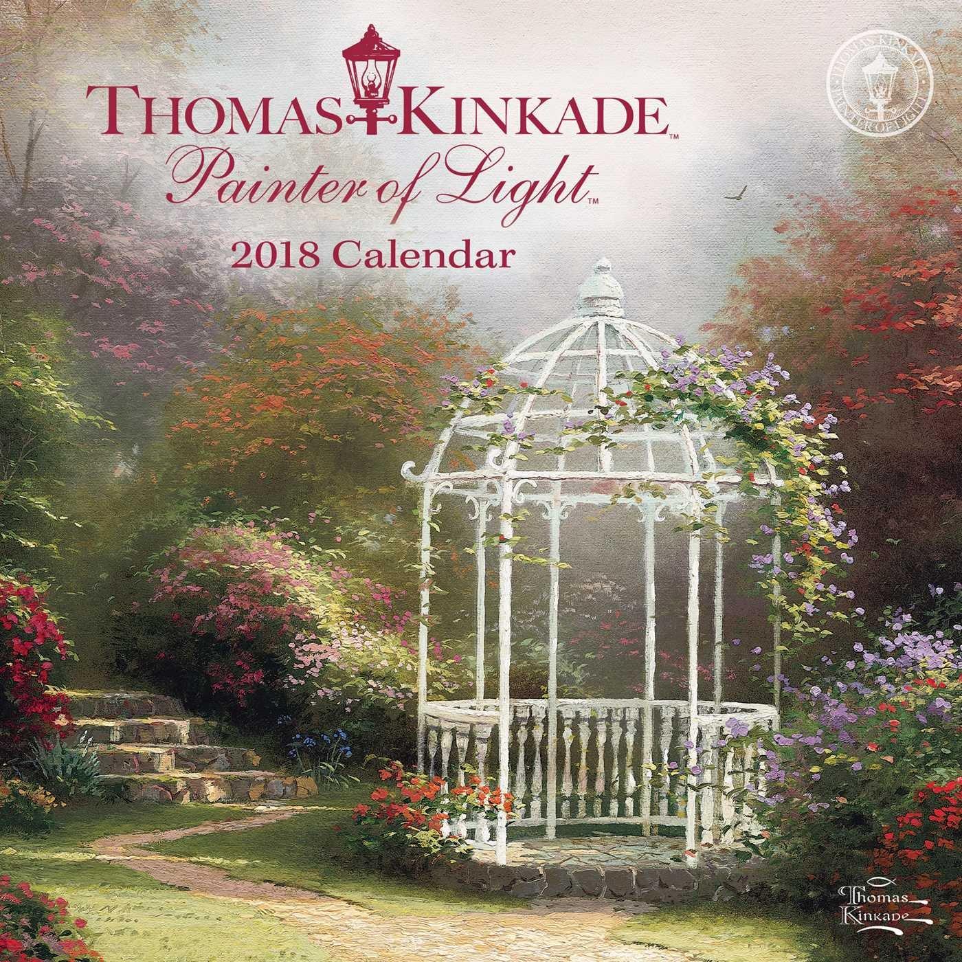 Download Thomas Kinkade Painter of Light 2018 Mini Wall Calendar ebook