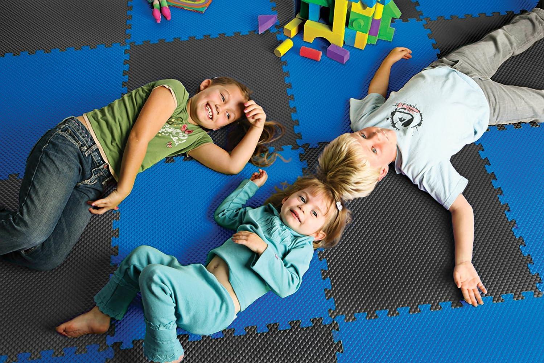 EVA Foam Interlocking Tiles Norsk Truly Reversible 3//4 Sport MMA Foam Mats