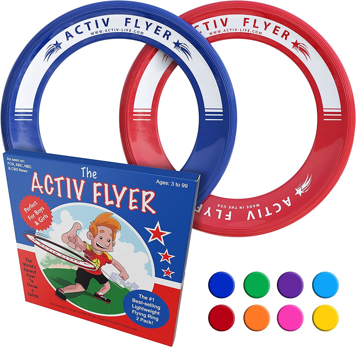 Activ Life Best Kid's Flying Rings