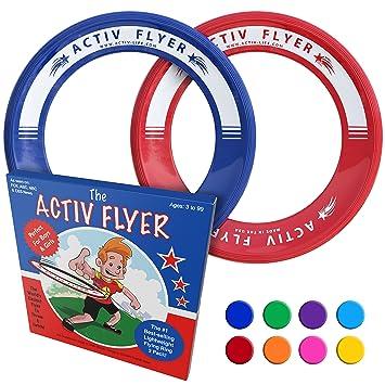 Discos Voladores Activ Life de Best Kid [Pack de 2] Vuelan Recto y No Lastiman - 80% Más Livianos que los Discos Voladores Estándar – Reemplaza el ...