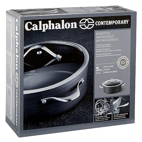 Calphalon Contemporary antiadherente batería de cocina de aluminio anodizado: Amazon.es: Hogar