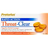 Pretorius Throat Clear Lozenges, Herbal, 20ct