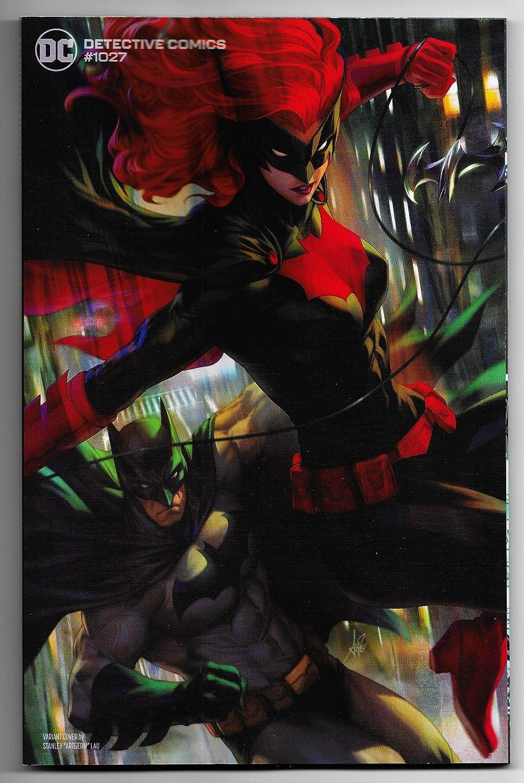 DETECTIVE COMICS #1027 CVR D ARTGERM BATMAN BATWOMAN VARIANT DC 09//15//2020 LB01