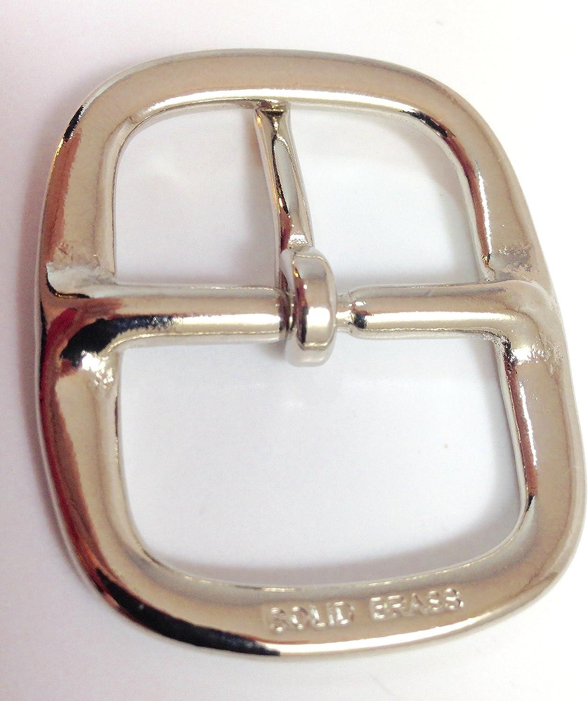 """1 BELT BUCKLE Men Women UNISEX Chrome Silver Finish 1 1//4/"""" inch HEAVY DUTY BRASS"""