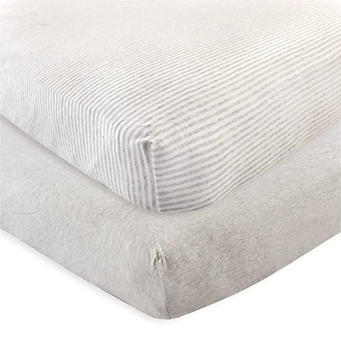 Top 10 Touched By Nature Organic Cotton Fitted Crib Sheet