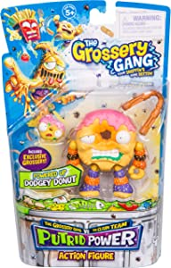 Grossery Gang The Season 3 Action Figurine - Dodgey Donut