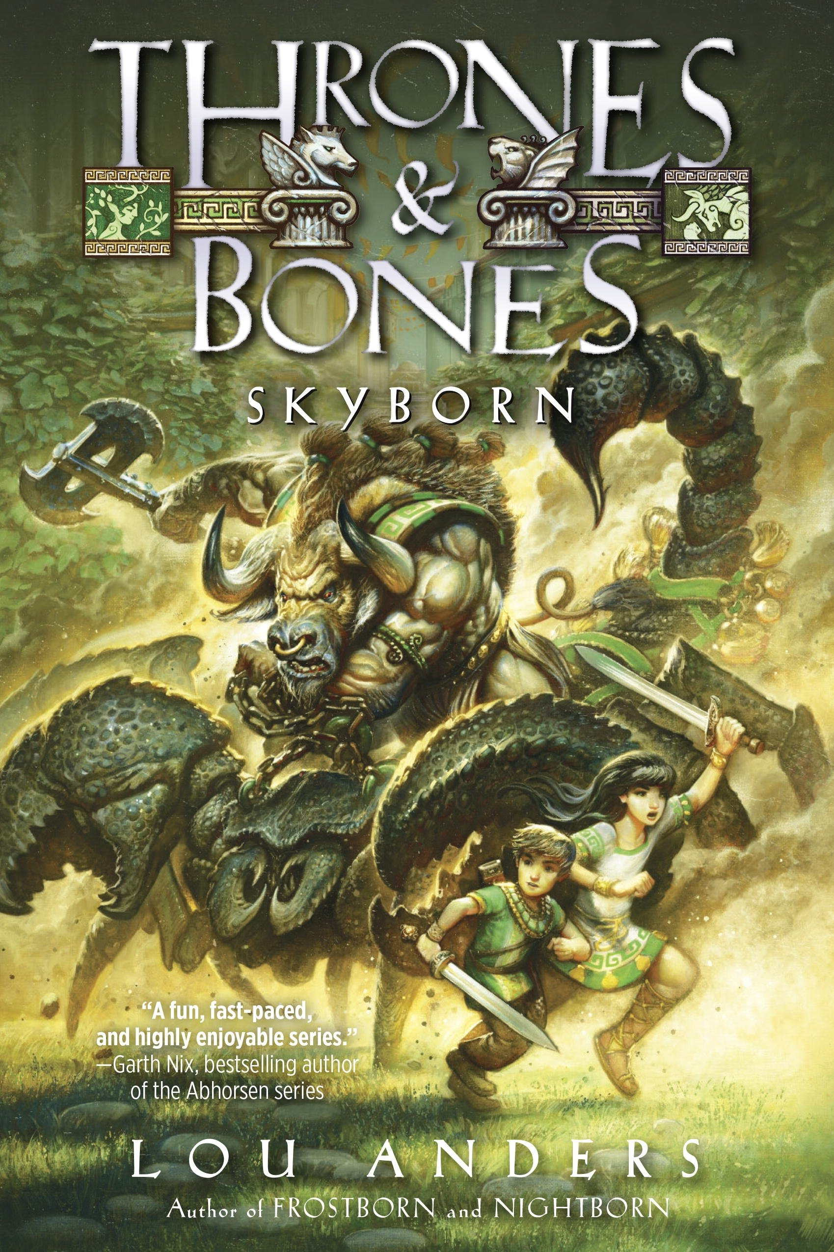 Skyborn (Thrones and Bones, Band 3): Amazon.de: Lou Anders ...