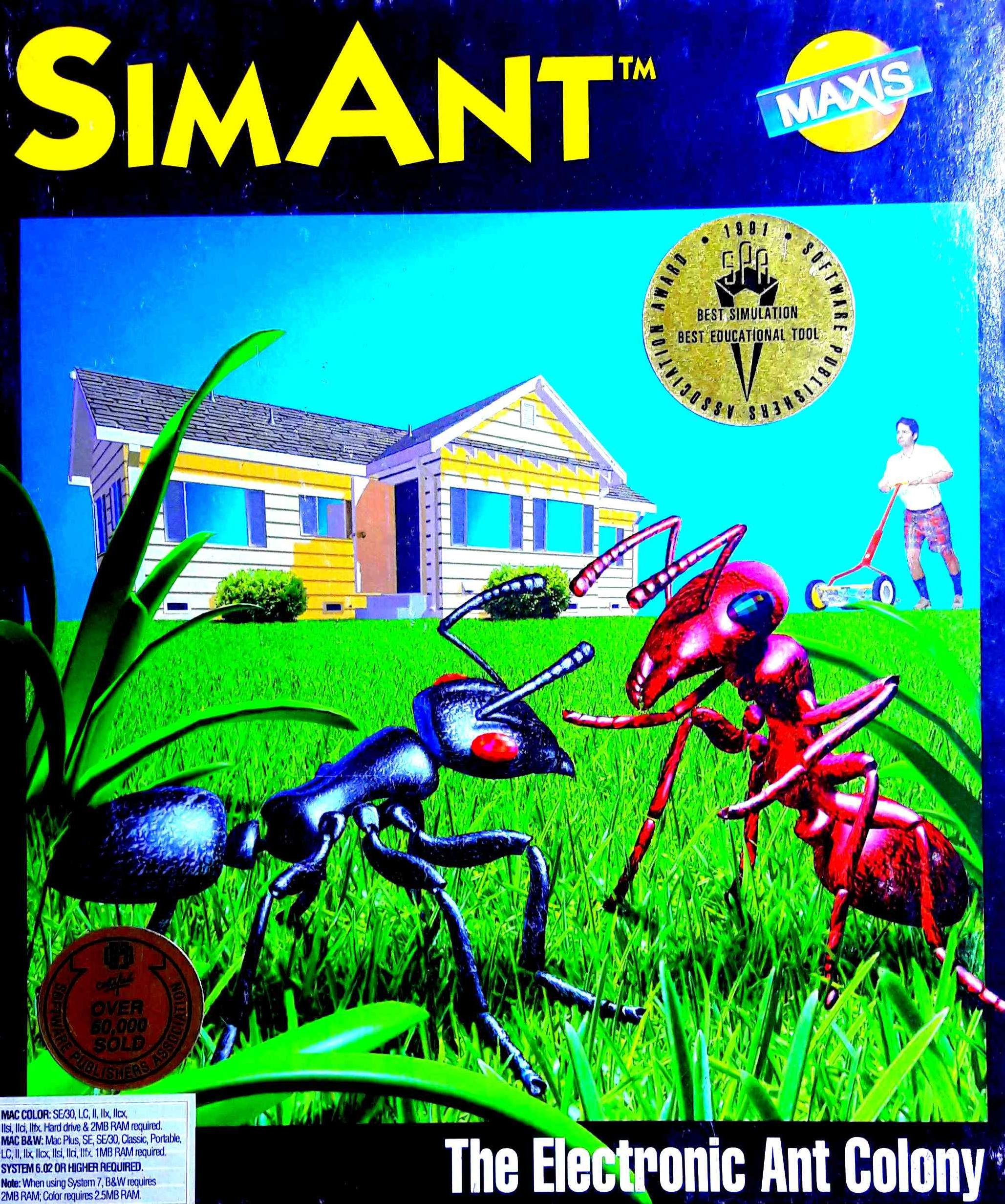 Amazon com: SimAnt (The Electronic Ant Colony): Video Games